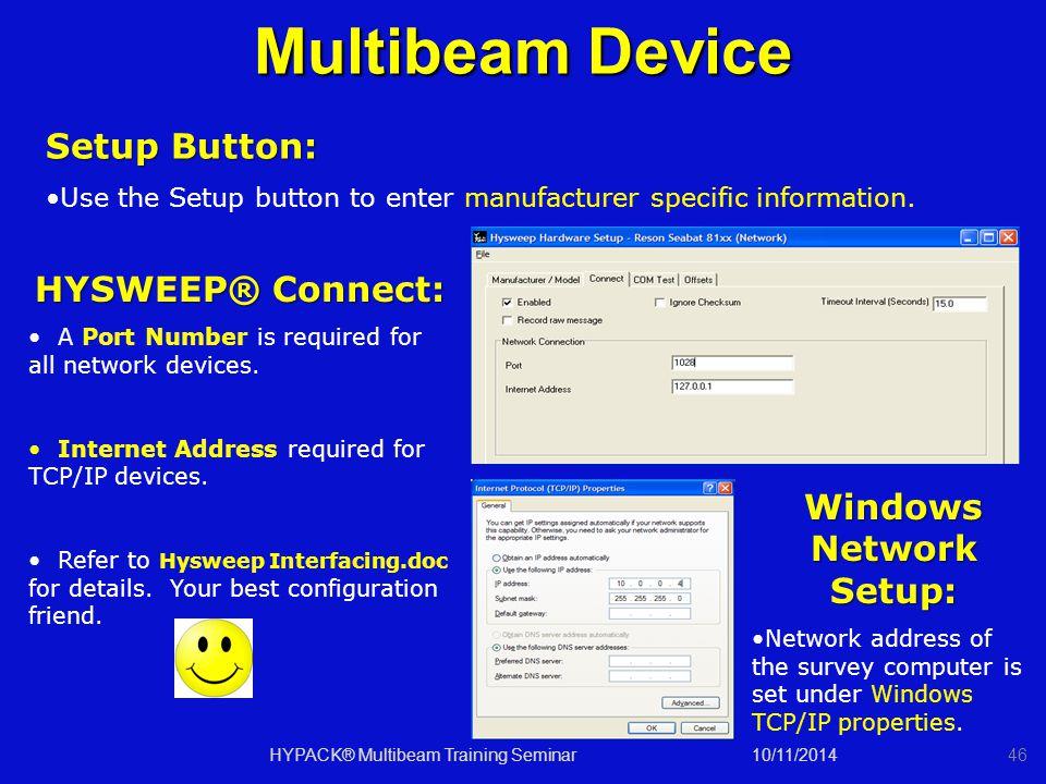 Windows Network Setup: