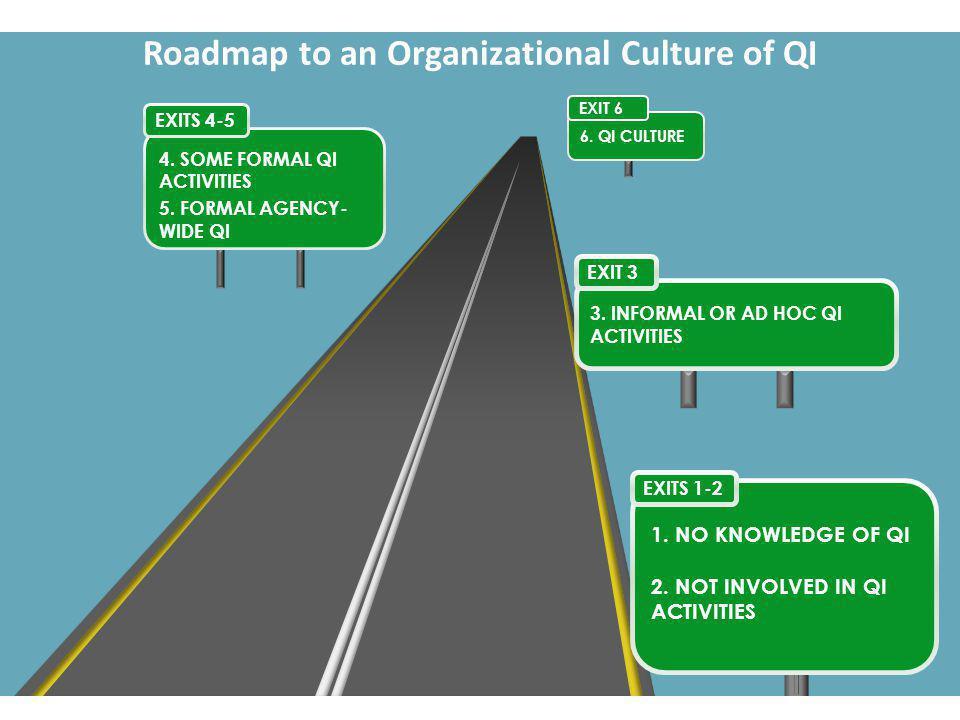 Roadmap to an Organizational Culture of QI