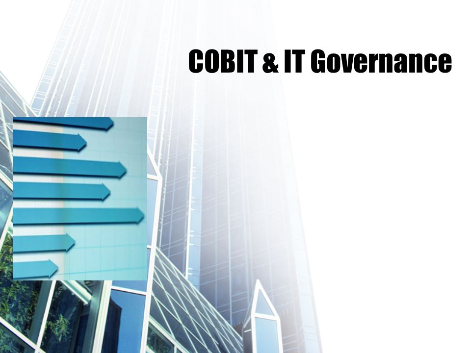 COBIT & IT Governance
