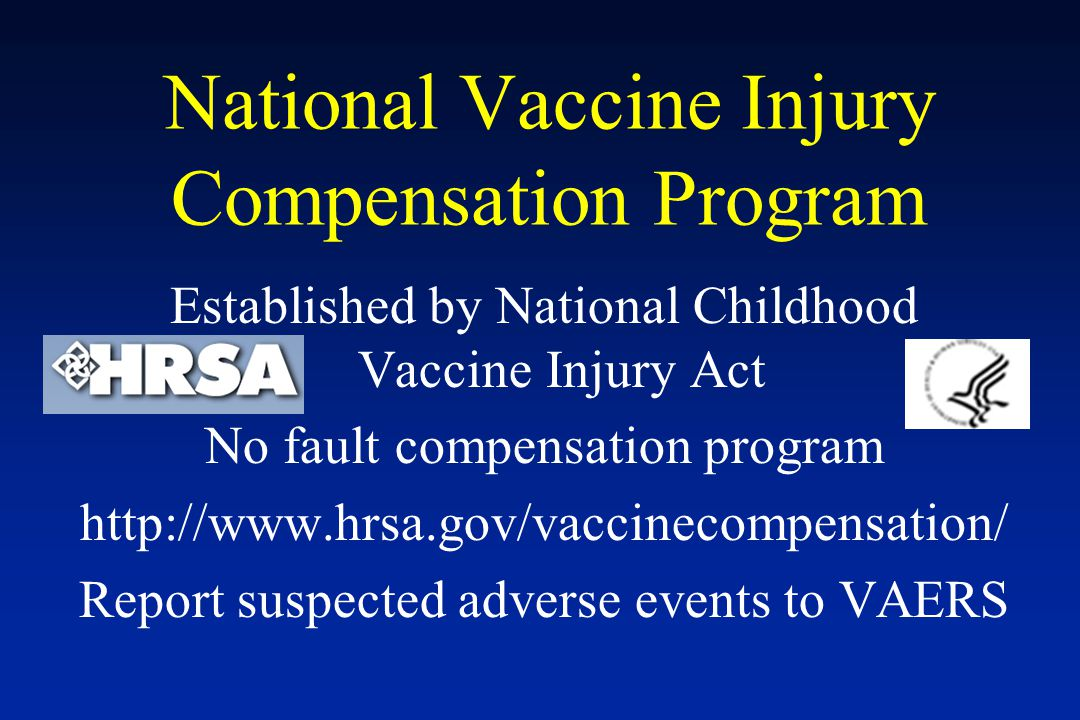 National Vaccine Injury Compensation Program