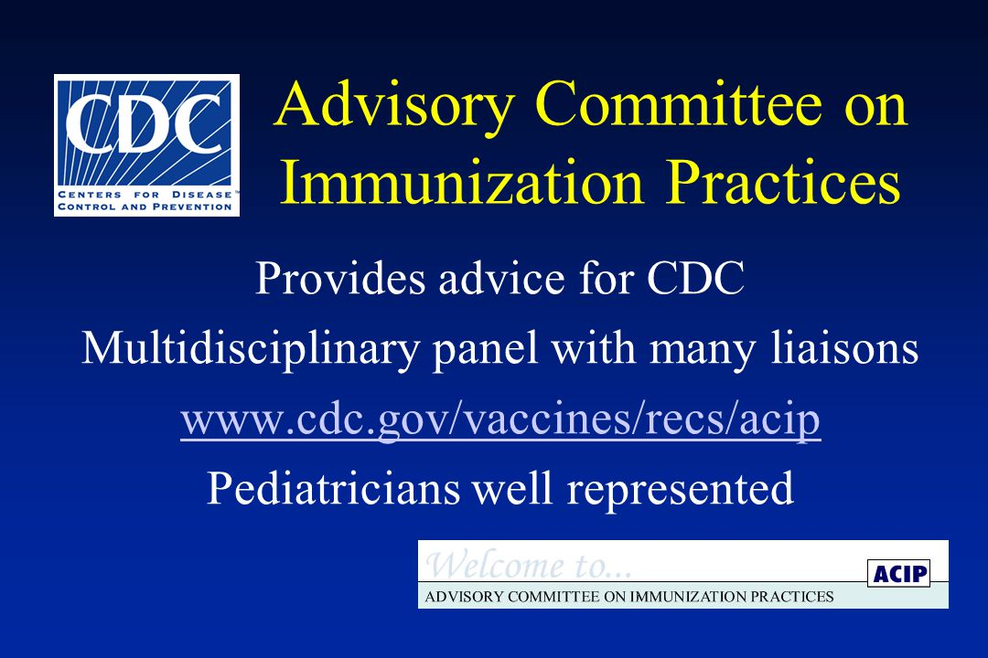 Advisory Committee on Immunization Practices