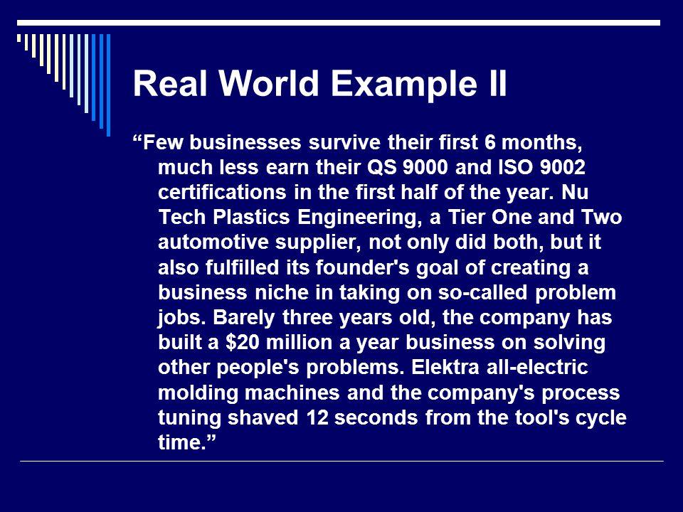 Real World Example II