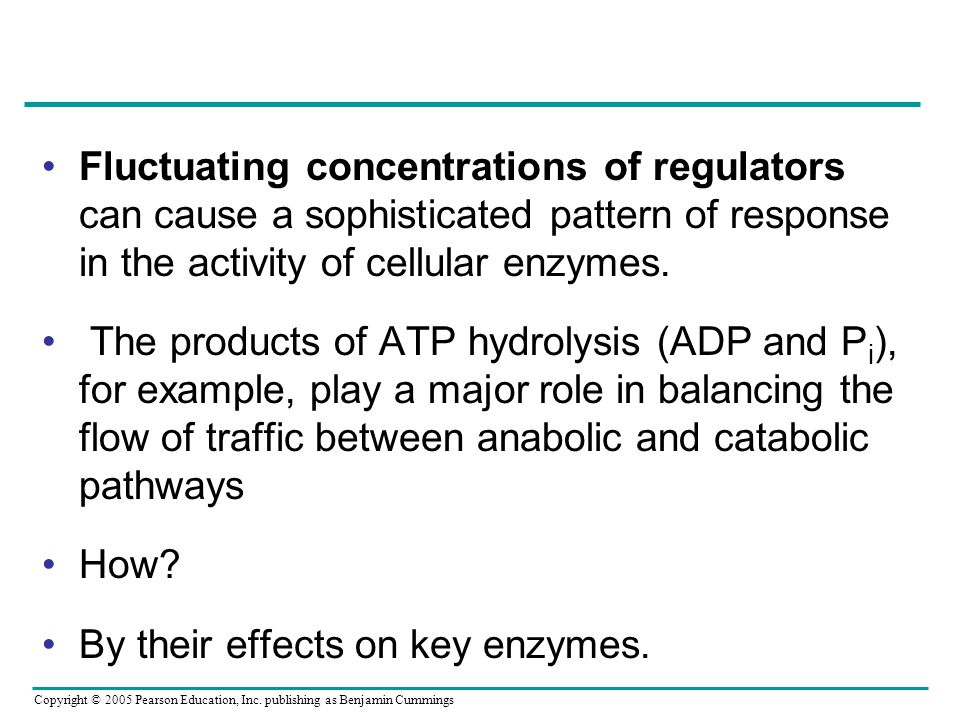 Fluctuating concentrations of regulators can cause a sophisticated pattern of response in the activity of cellular enzymes.