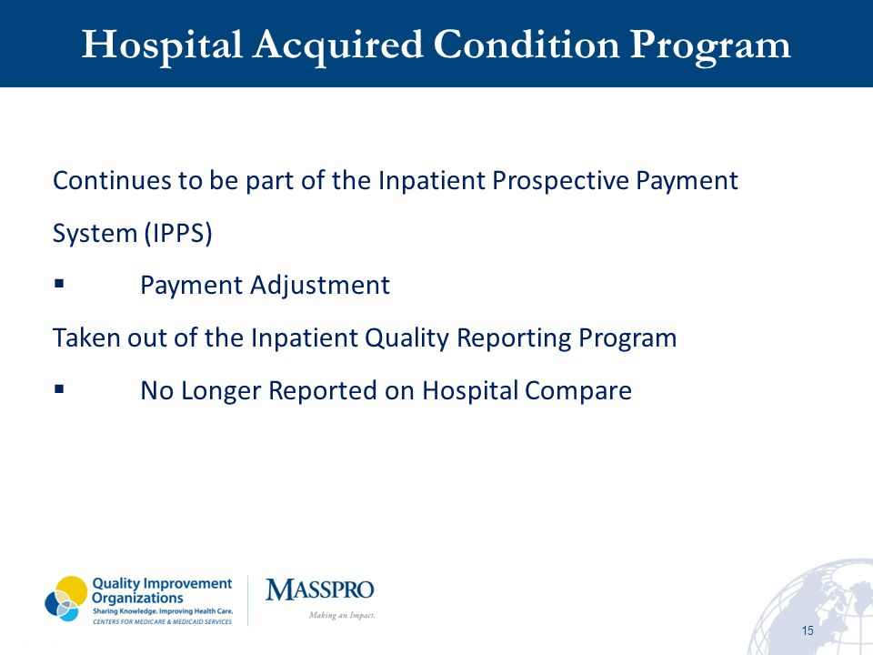 Hospital Acquired Condition Program