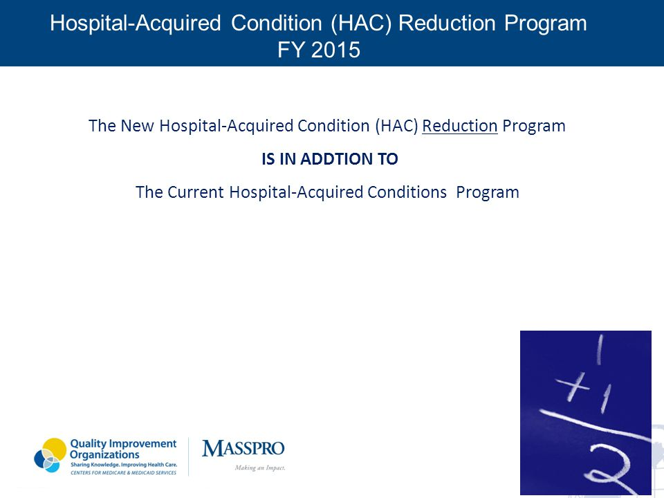 Hospital-Acquired Condition (HAC) Reduction Program FY 2015