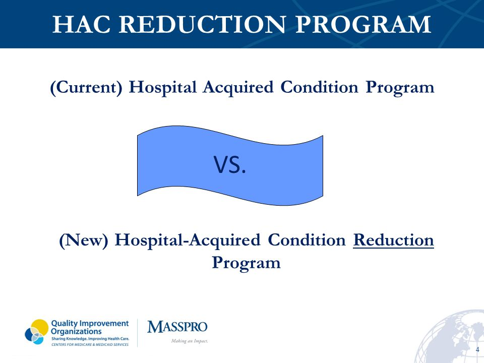 (Current) Hospital Acquired Condition Program