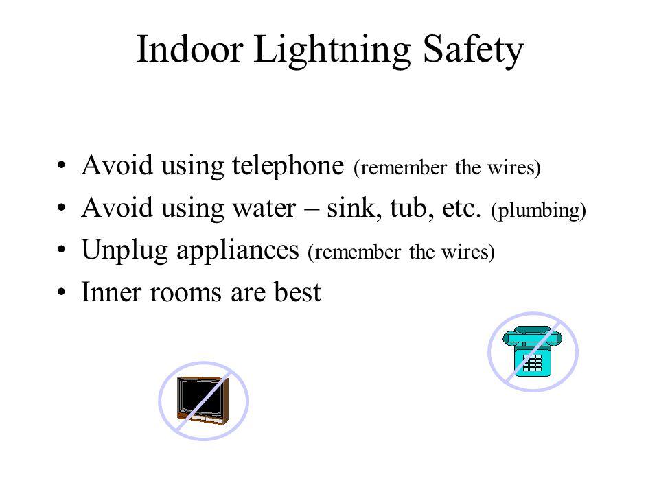 Indoor Lightning Safety