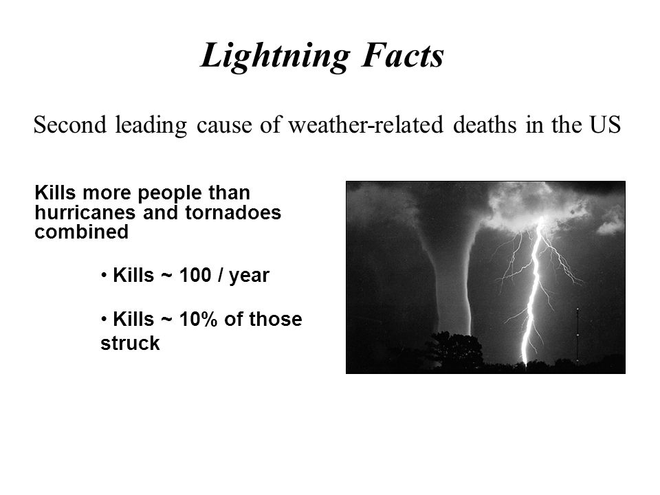 Second leading cause of weather-related deaths in the US