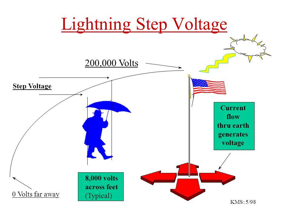 Lightning Step Voltage