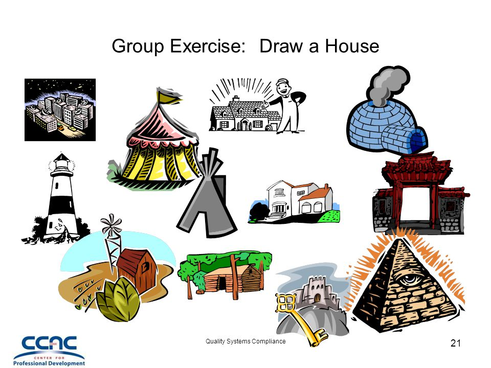 Group Exercise: Draw a House