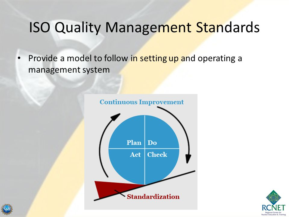 ISO Quality Management Standards