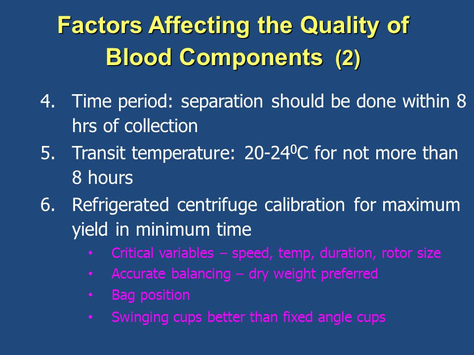 Factors Affecting the Quality of