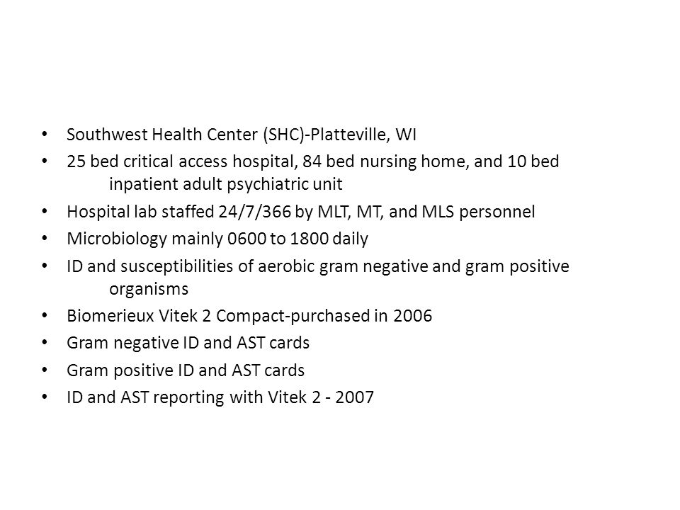 Southwest Health Center (SHC)-Platteville, WI