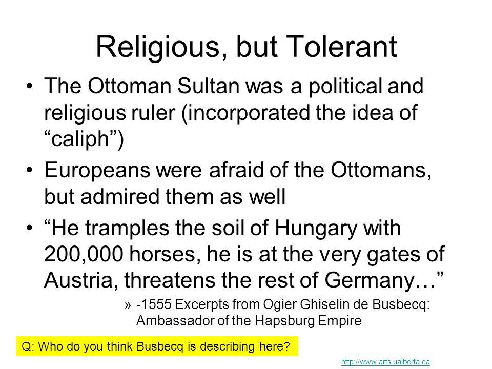 Religious, but Tolerant