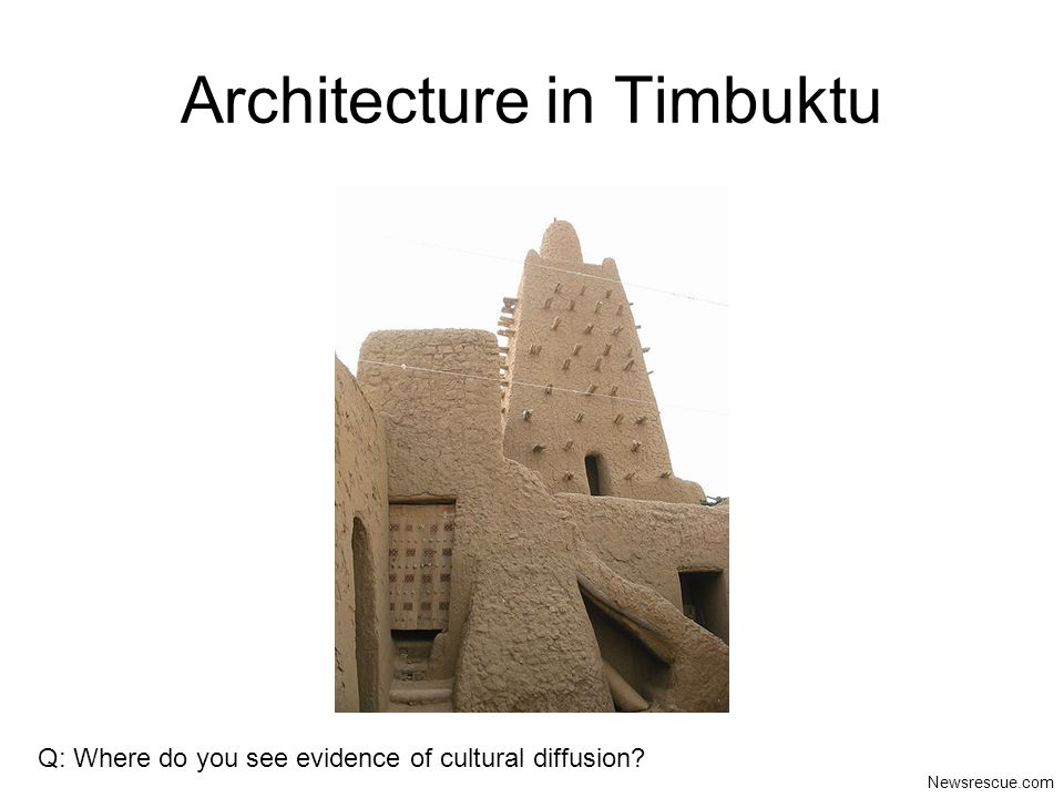 Architecture in Timbuktu
