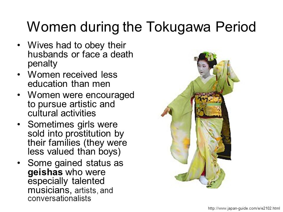 Women during the Tokugawa Period