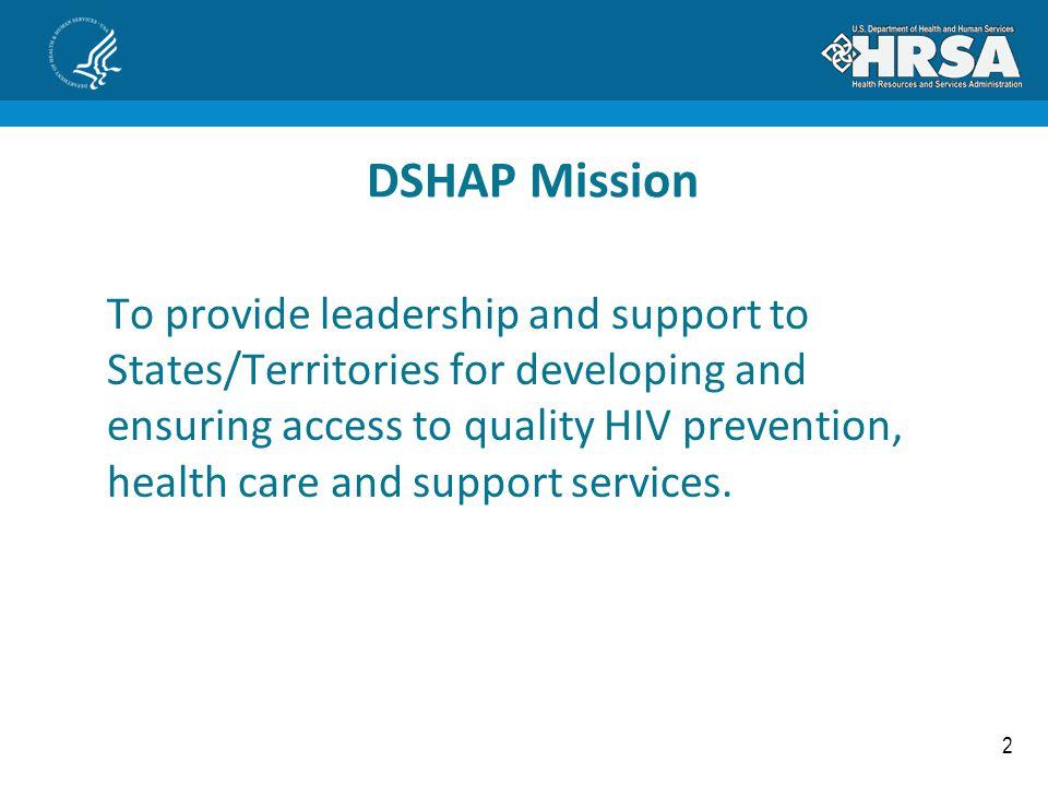 DSHAP Mission