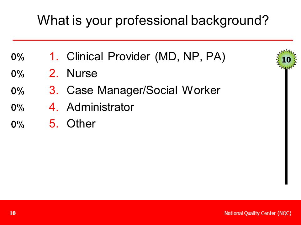 What is your professional background