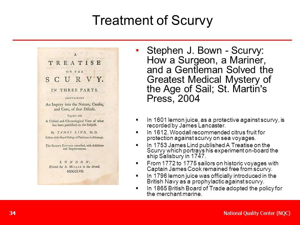 Treatment of Scurvy