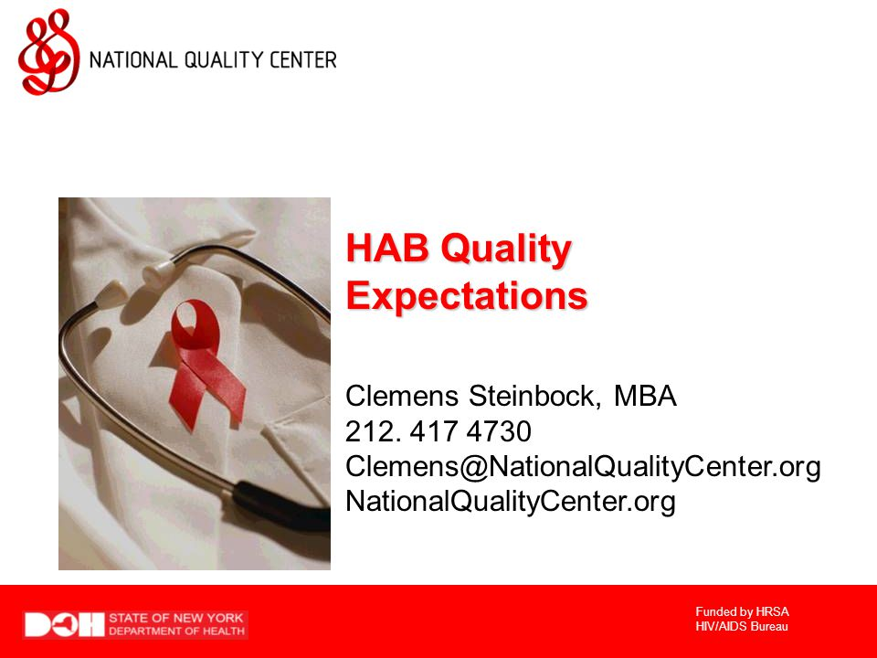 HAB Quality Expectations