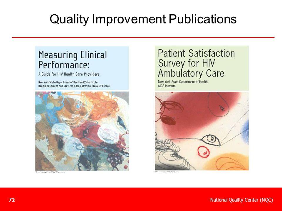 Quality Improvement Publications