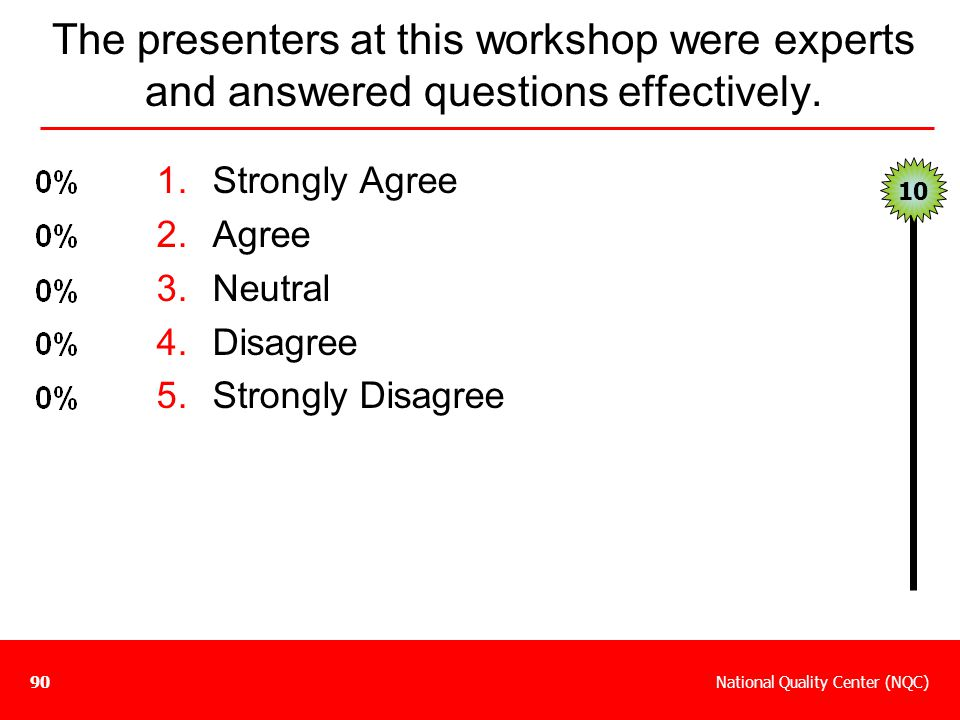 The presenters at this workshop were experts and answered questions effectively.
