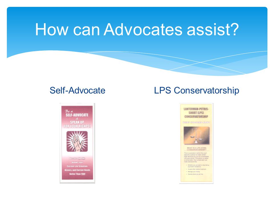 How can Advocates assist