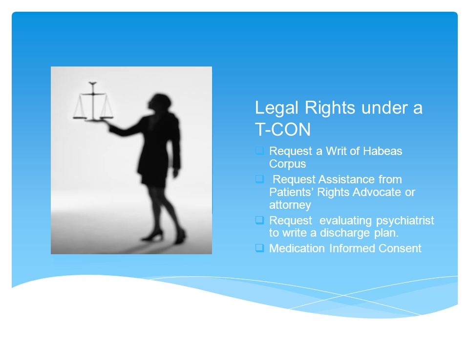 Legal Rights under a T-CON