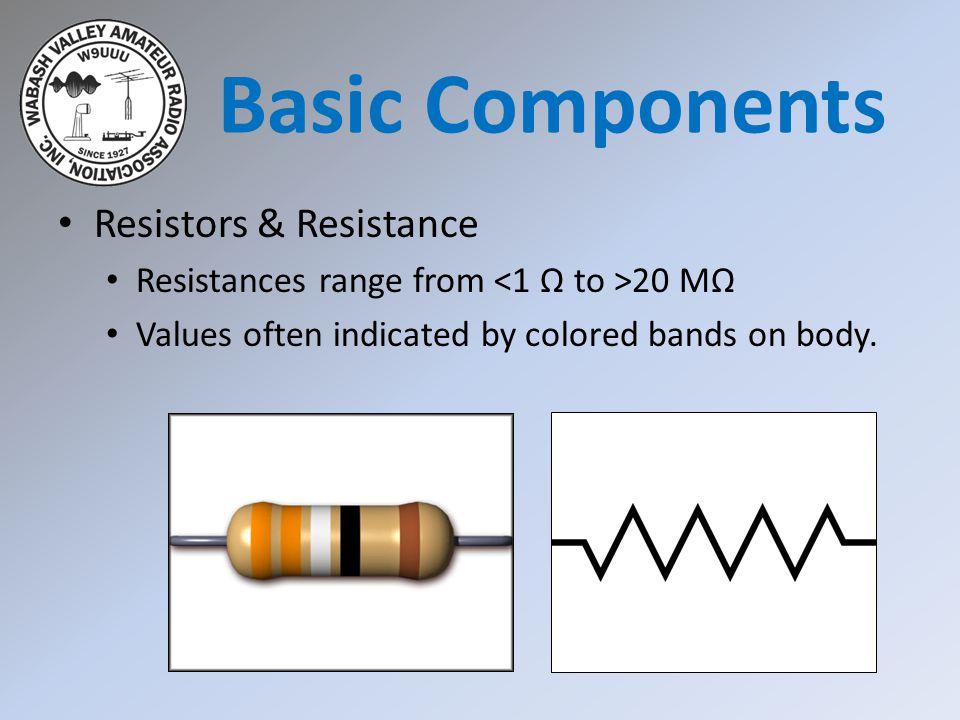 Basic Components Resistors & Resistance