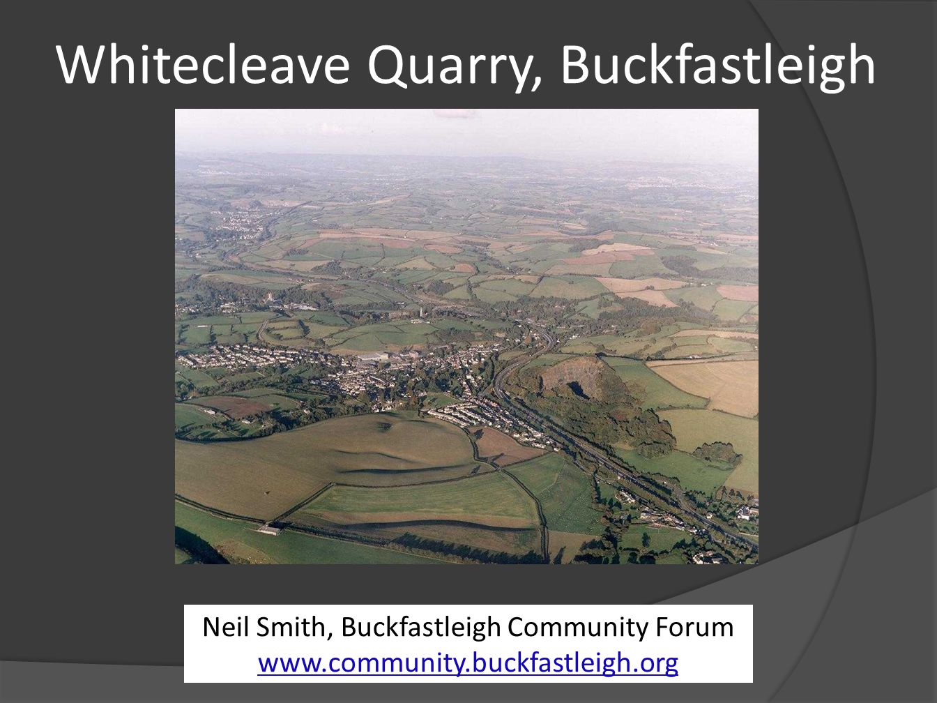 Whitecleave Quarry, Buckfastleigh