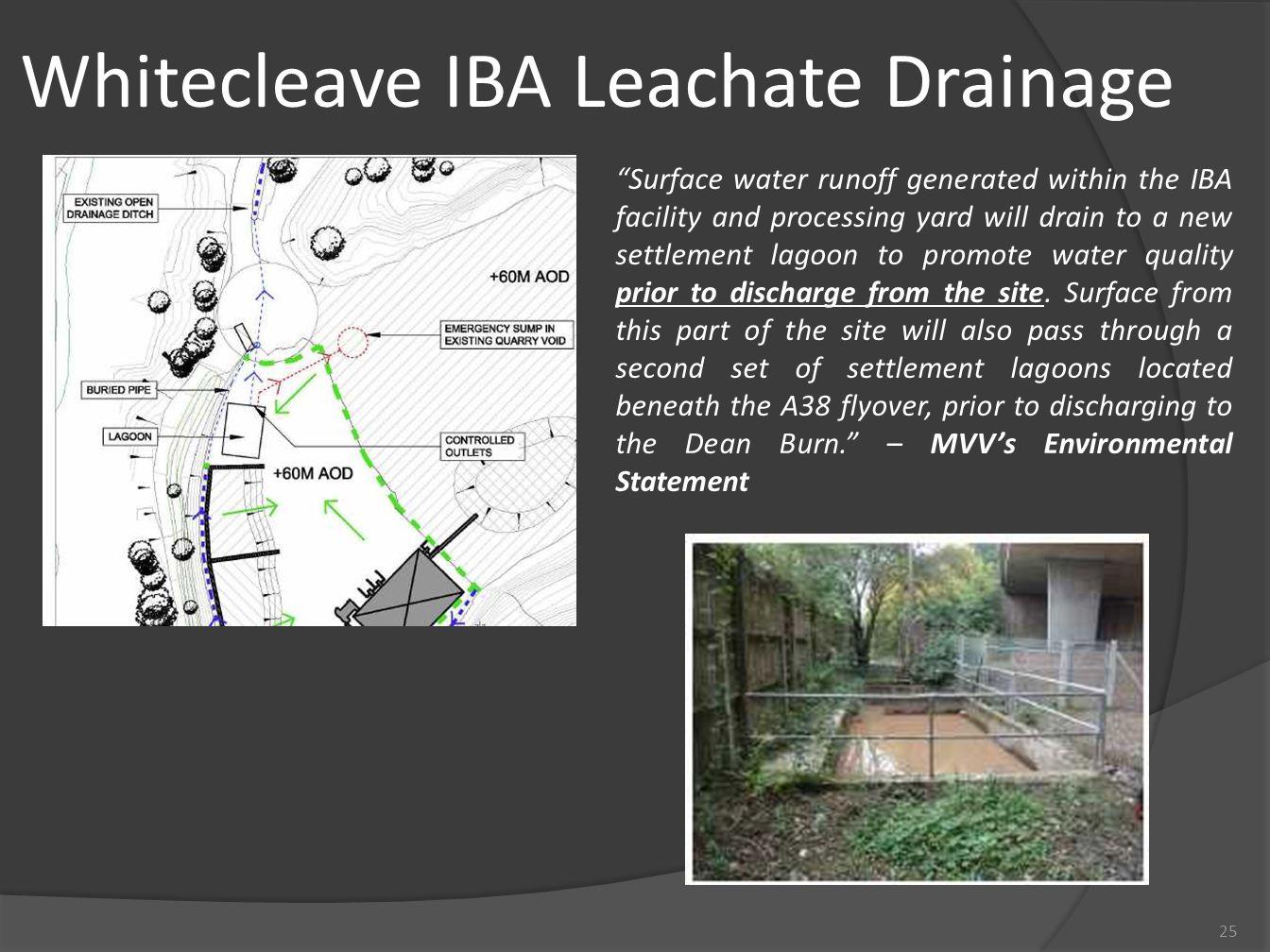 Whitecleave IBA Leachate Drainage