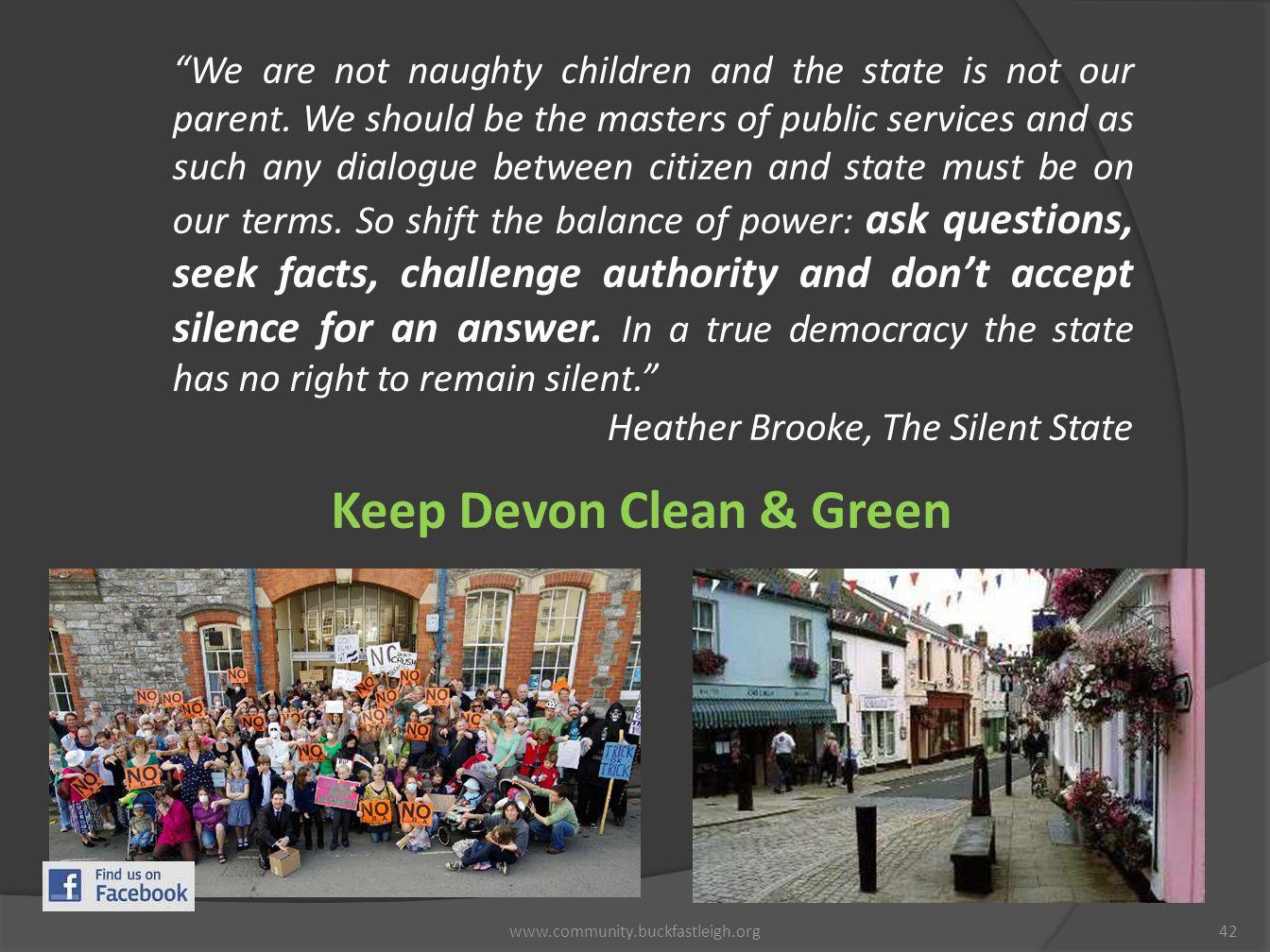 Keep Devon Clean & Green
