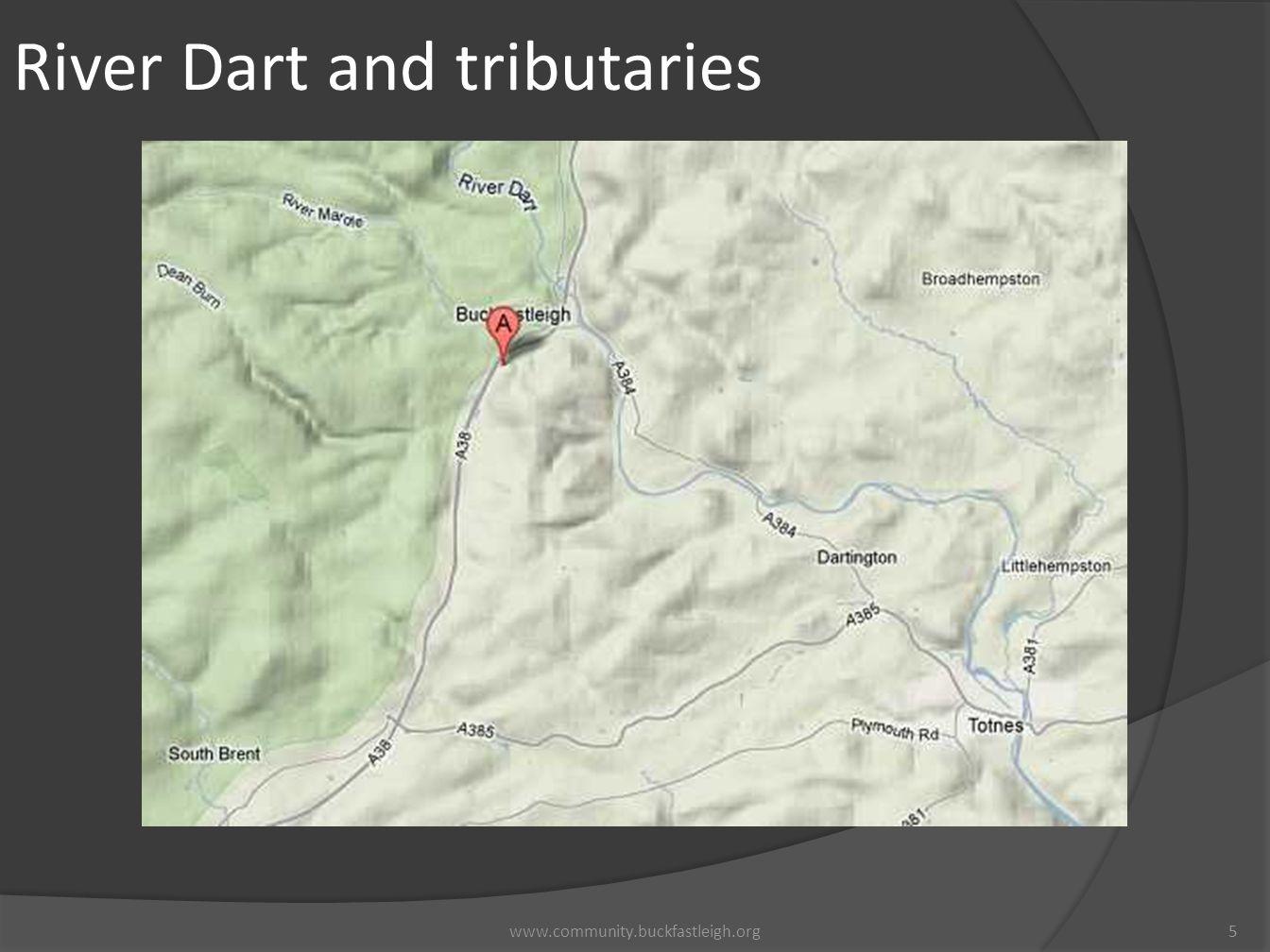 River Dart and tributaries