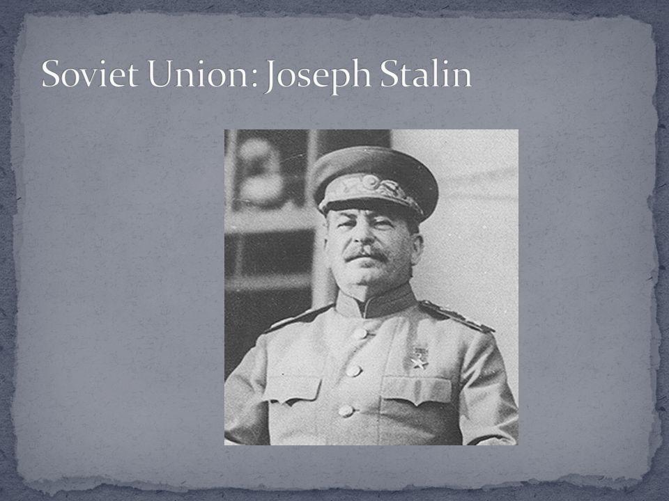 Soviet Union: Joseph Stalin