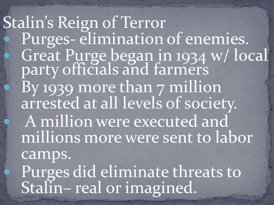 Stalin's Reign of Terror
