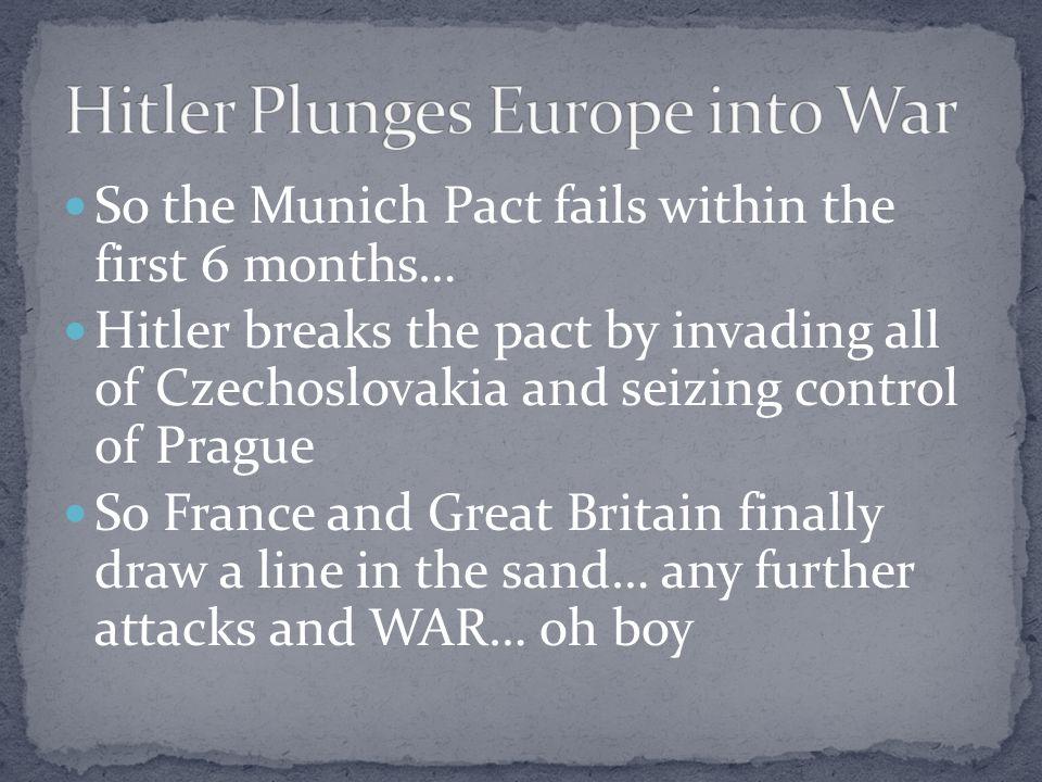 Hitler Plunges Europe into War