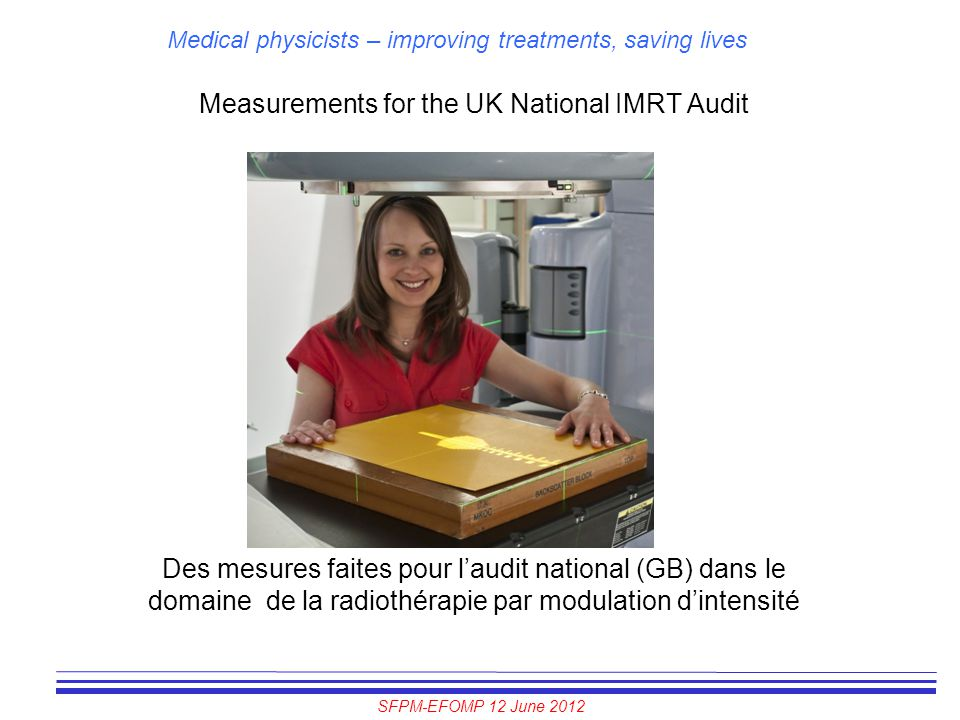 Measurements for the UK National IMRT Audit