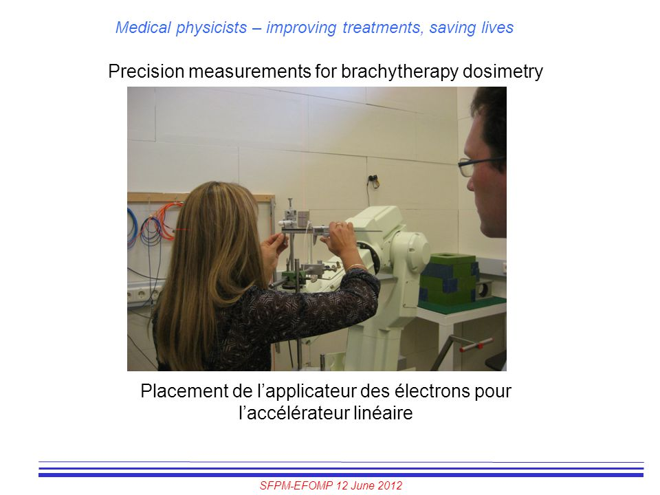 Precision measurements for brachytherapy dosimetry