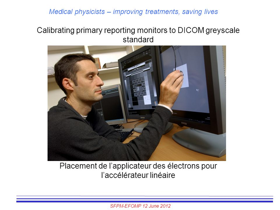 Calibrating primary reporting monitors to DICOM greyscale standard