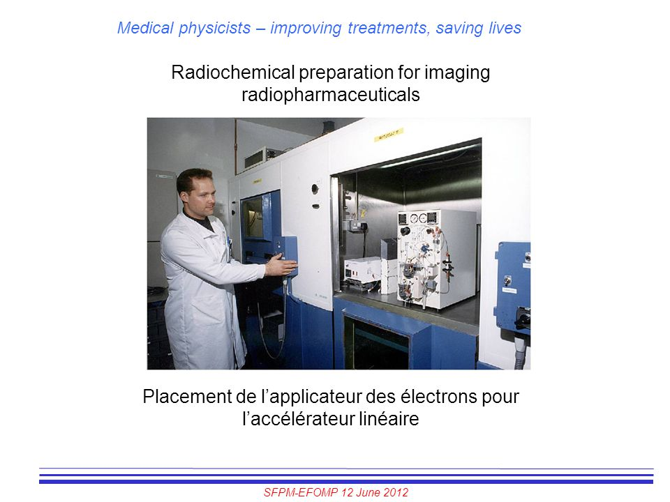 Radiochemical preparation for imaging radiopharmaceuticals
