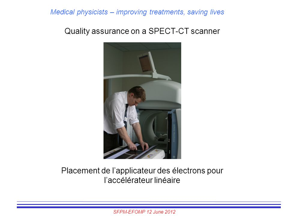 Quality assurance on a SPECT-CT scanner
