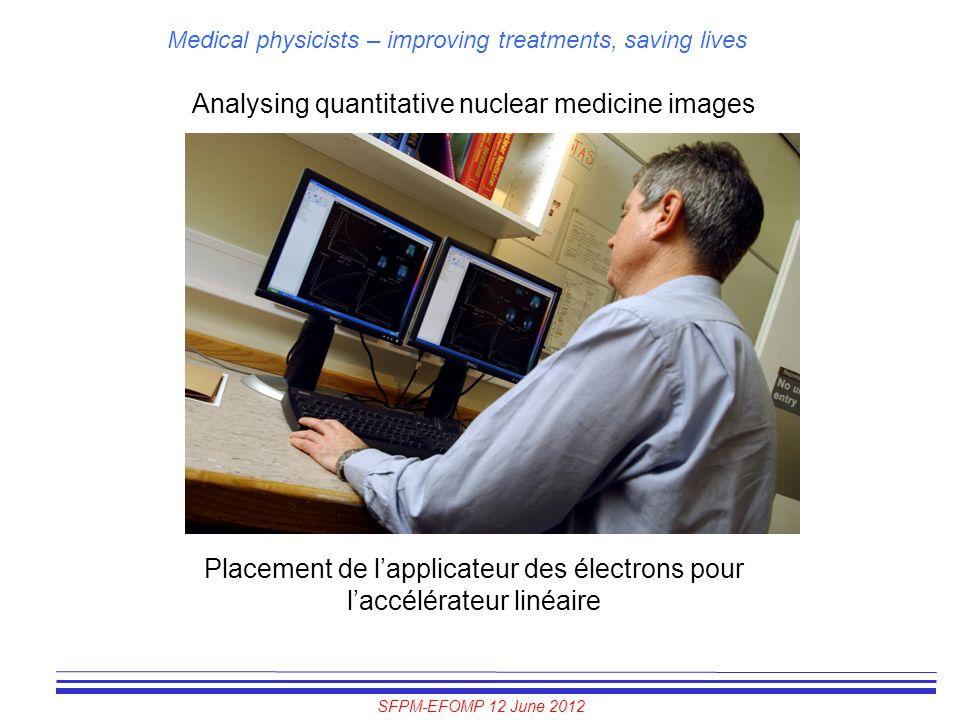Analysing quantitative nuclear medicine images