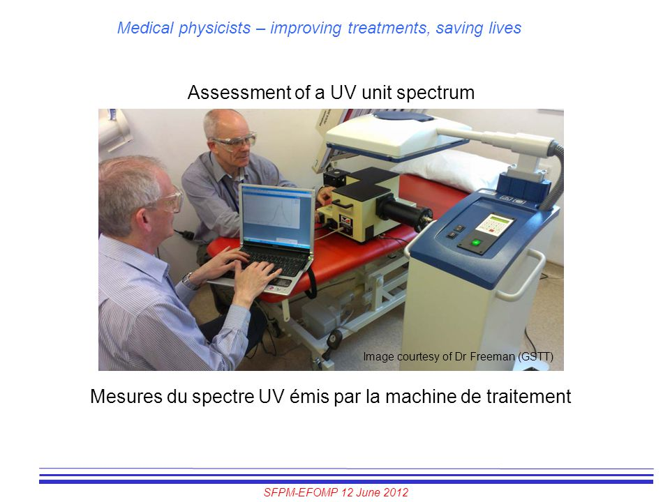 Assessment of a UV unit spectrum
