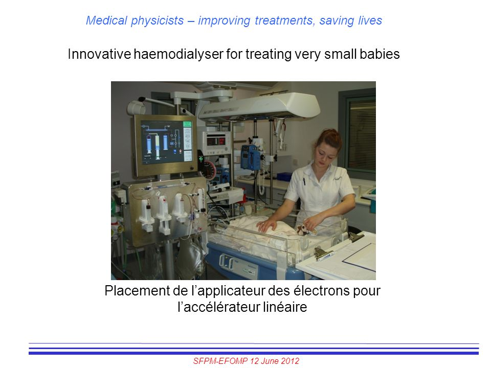 Innovative haemodialyser for treating very small babies