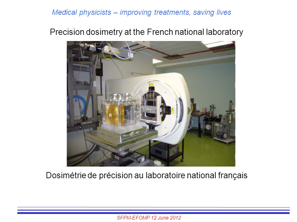 Precision dosimetry at the French national laboratory