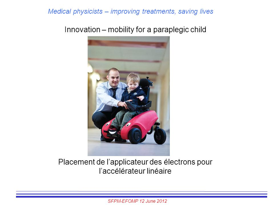 Innovation – mobility for a paraplegic child