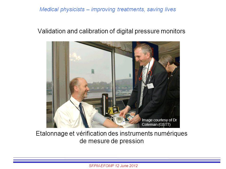 Validation and calibration of digital pressure monitors