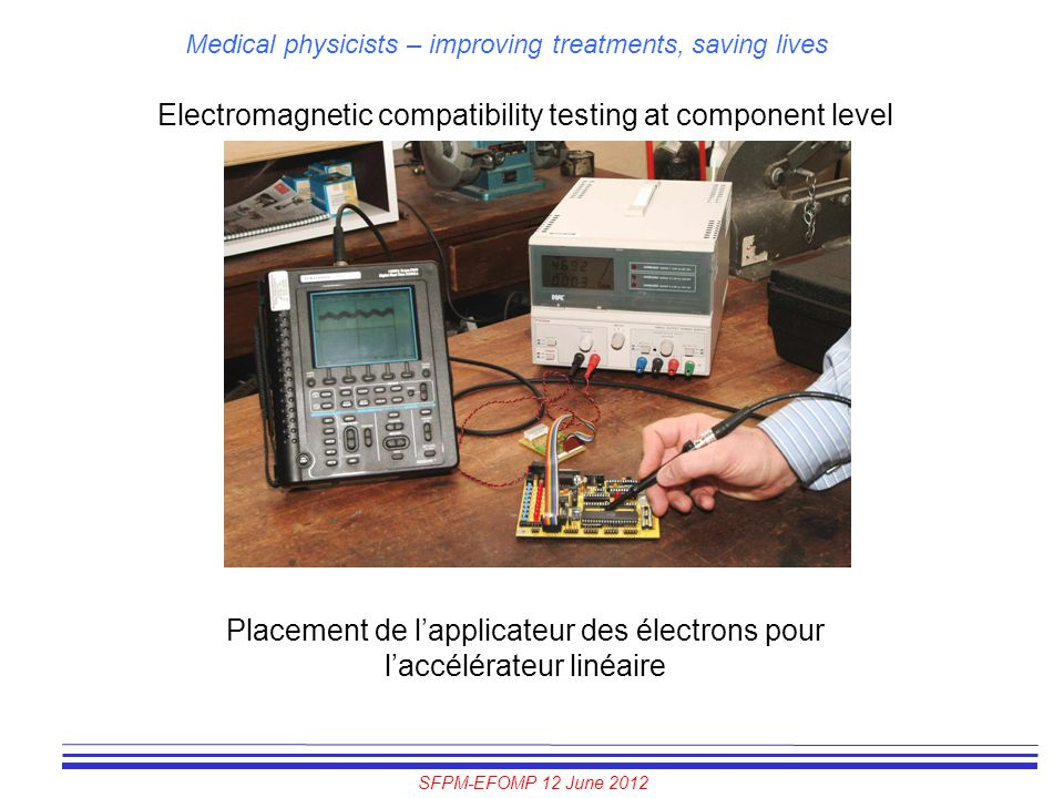 Electromagnetic compatibility testing at component level