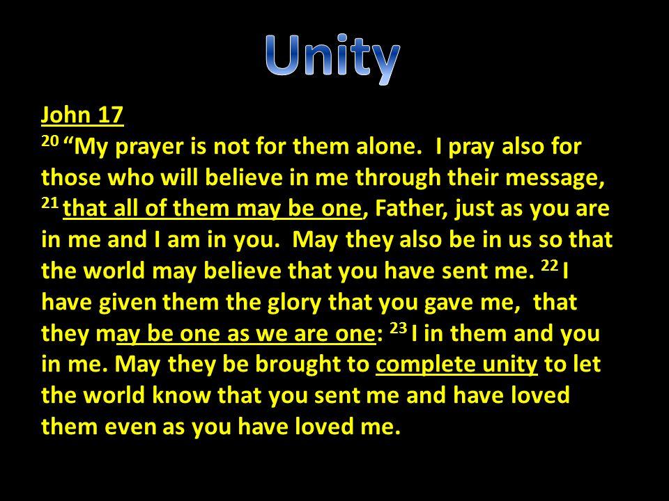 Unity John 17.