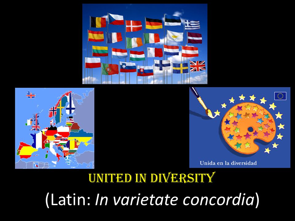 (Latin: In varietate concordia)